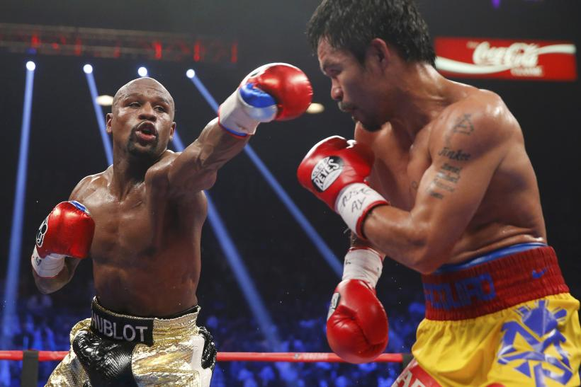 Mayweather-Pacquiao Fight Action Slideshow | Floyd Mayweather vs ...
