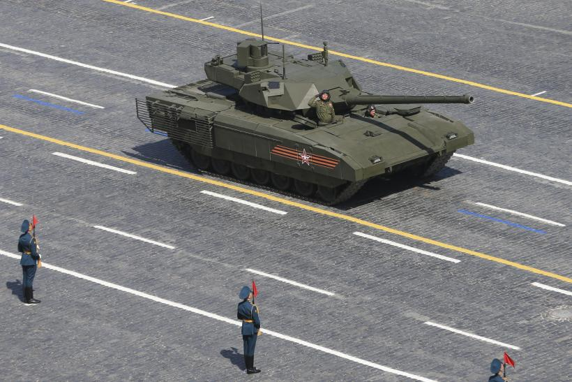 Russia S Armata T 14 Tank To Feature Ceramic Armor Plates