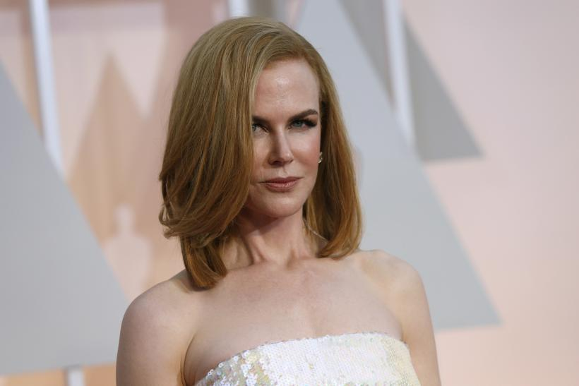 Nicole Kidman Stuns On Vogue Australia Cover, Poses In Front Of Ayers ...