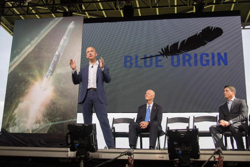 Jeff bezos 39 space company blue origin gets a launchpad in for Space and co