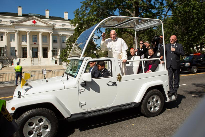 What was the jeep in pope #2