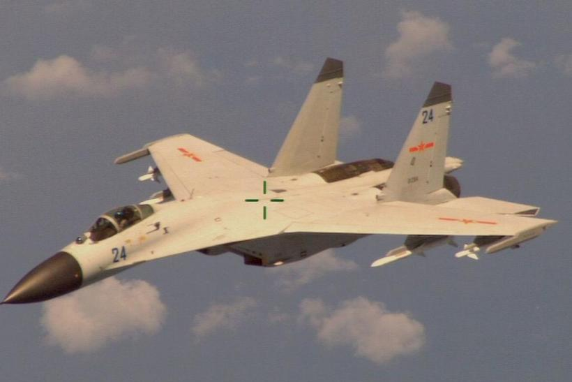 Here's The Chinese Fighter That Harassed A US Surveillance Plane