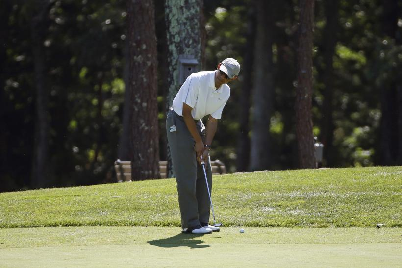 Obama's Golf Round After James Foley Statement Criticized