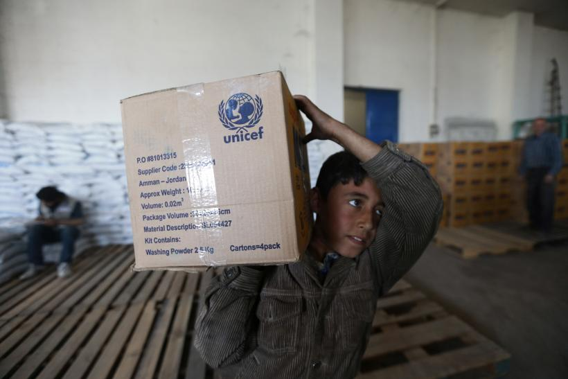 UNICEF Undertakes Record Relief Operations In Conflict-Hit Regions