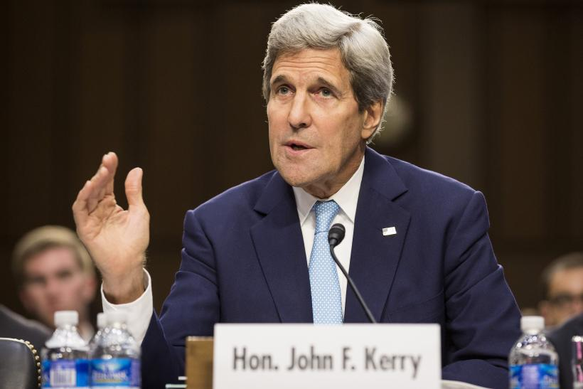 Kerry Says No US Ground Troops Will Fight ISIS