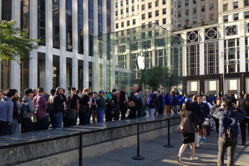 Don't Want To Stand In Line For The iPhone 6? Stay Away From NYC