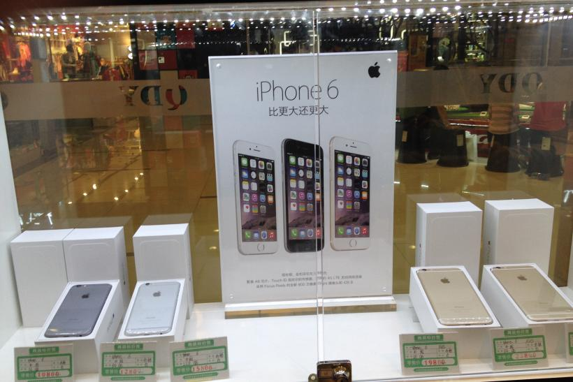 Gold iPhone 6 Selling For $4,128 On Streets Of Beijing