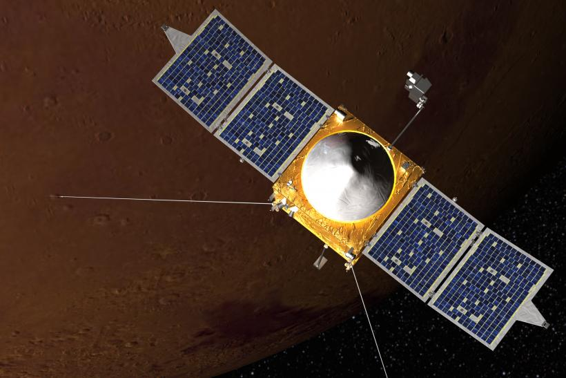 NASA's MAVEN Enters Mars' Orbit While India's Mangalyaan Too Closes In On Red Planet