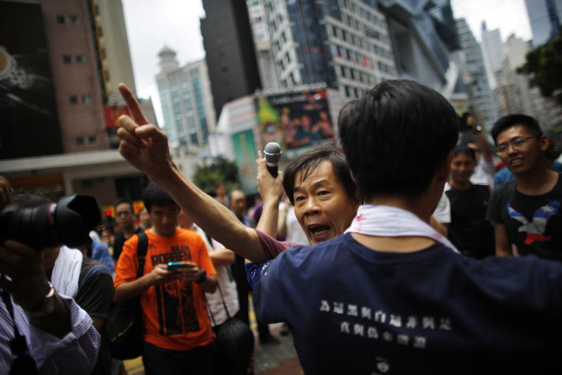 Beijing Asks Hong Kong Chief To Resolve Protests Peacefully: Report