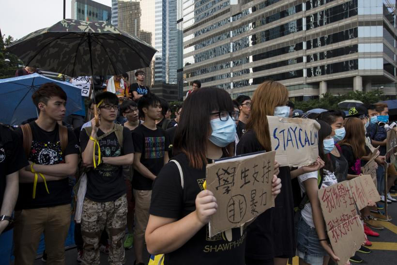 Demands Of 'Real Democracy' On National Day In Hong Kong