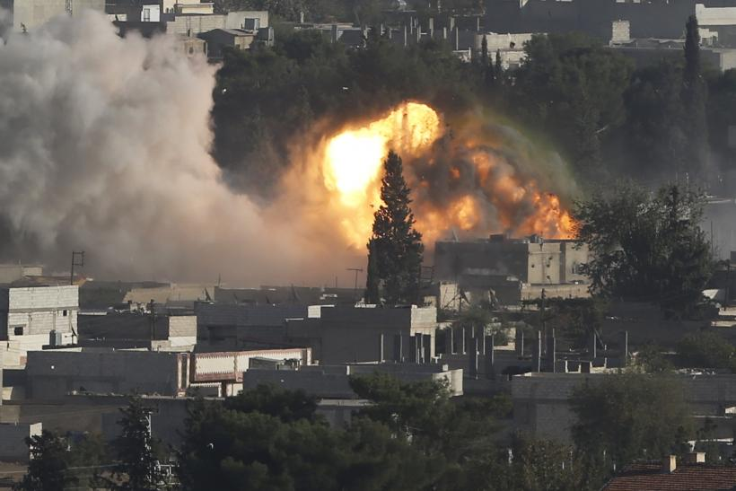 US-Led Airstrikes Kill More Than 900 In Syria
