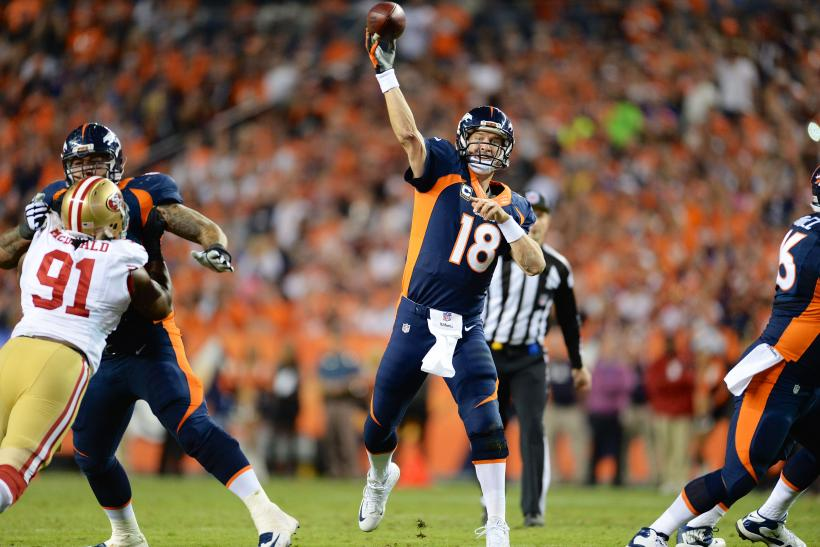 Manning Throws Record 509th Touchdown Pass