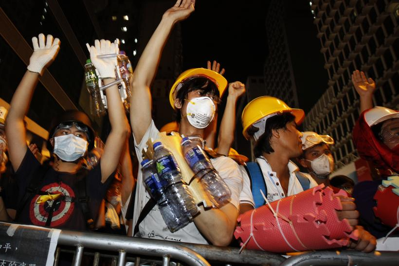 Hong Kong Students Gear Up For Government Talks