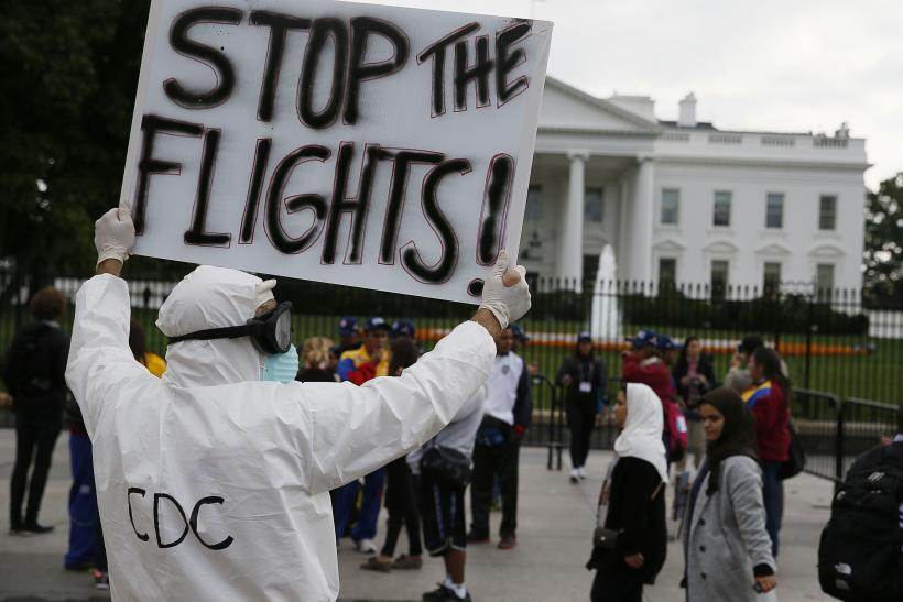 Support Grows For Ebola Travel Ban