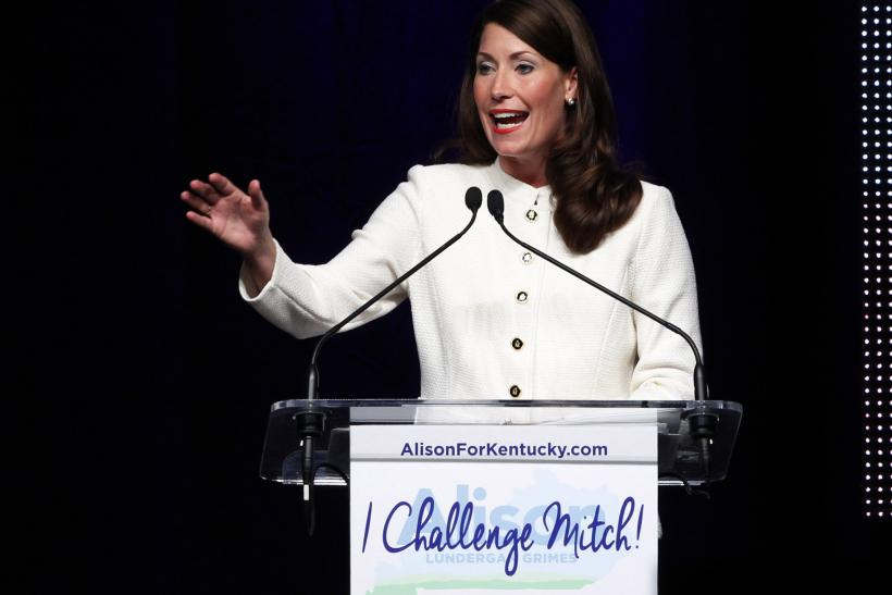 Dems Reverse Course, Aid Alison Lundergan Grimes In Kentucky
