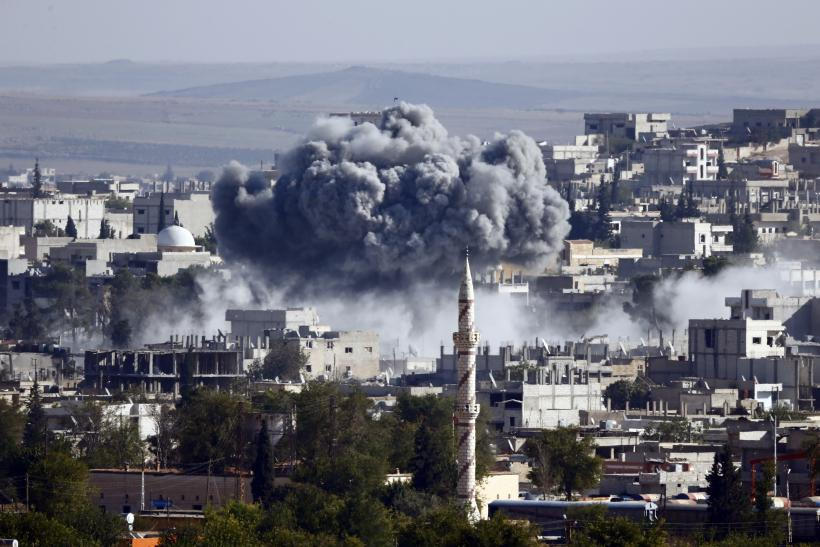 Syrian Airstrikes Have Killed Over 500 Militants