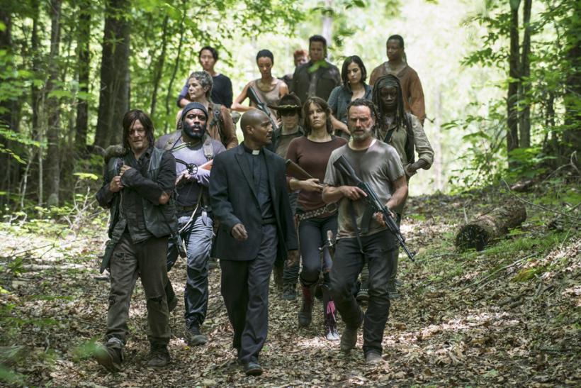 'Walking Dead' Goes Cannibal, And Advertisers Go Along