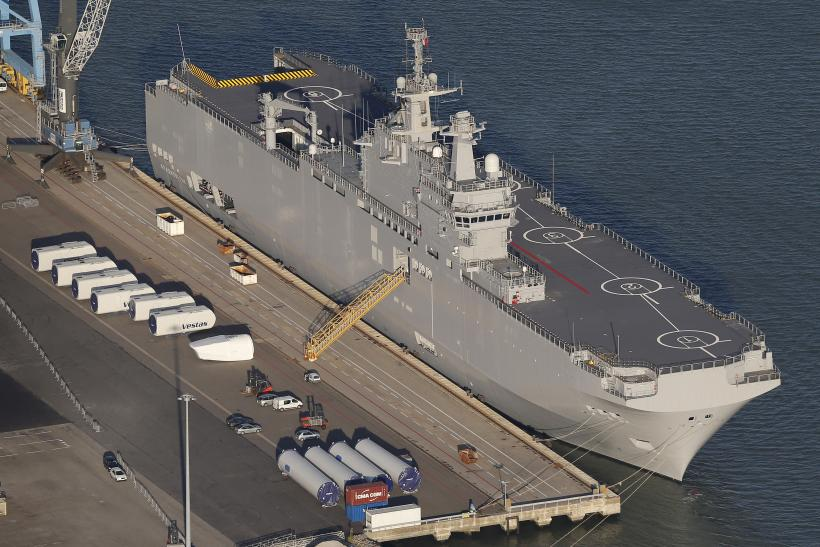 France Denies Russian Claim It Will Deliver Warships