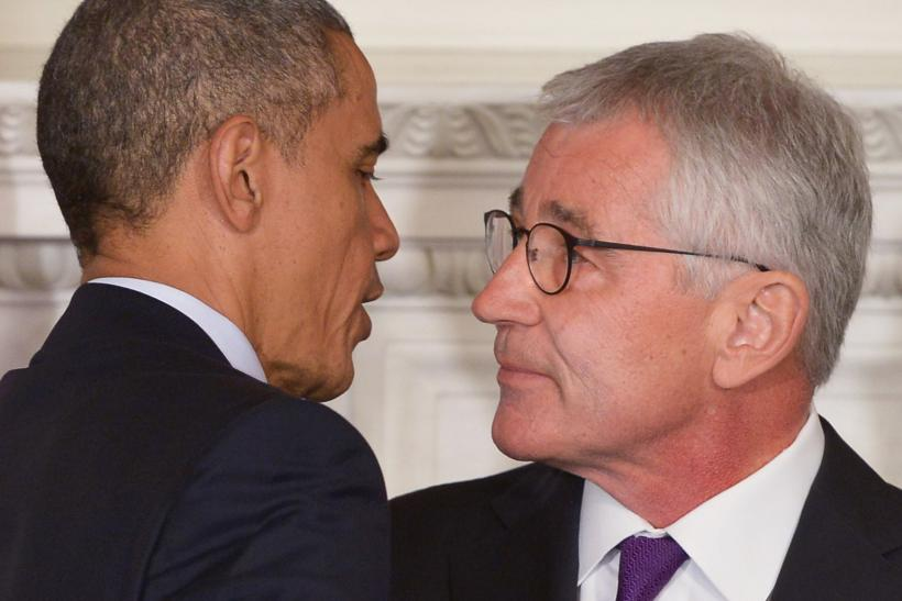 Game Over For Hagel