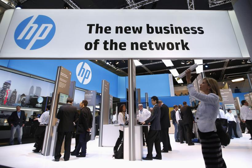 HP Meets Analysts' Q4 Expectations
