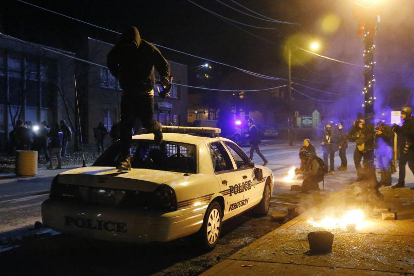 National Guard Numbers Tripled In Ferguson