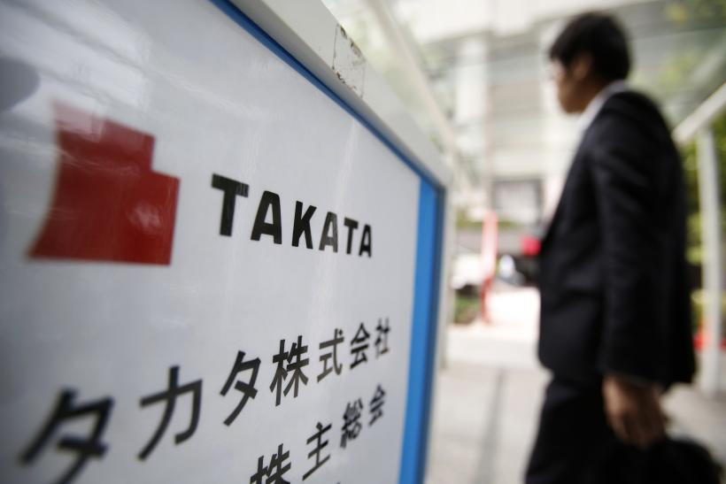 Takata Recalls Could Harm Japan's Auto Industry: Transport Minister