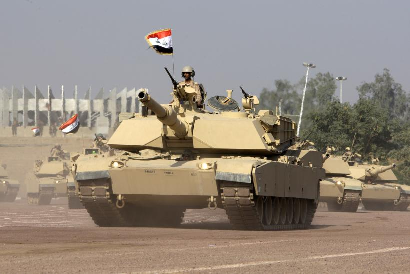US Approves $3B Sale Of Tanks, Armored Vehicles To Iraq