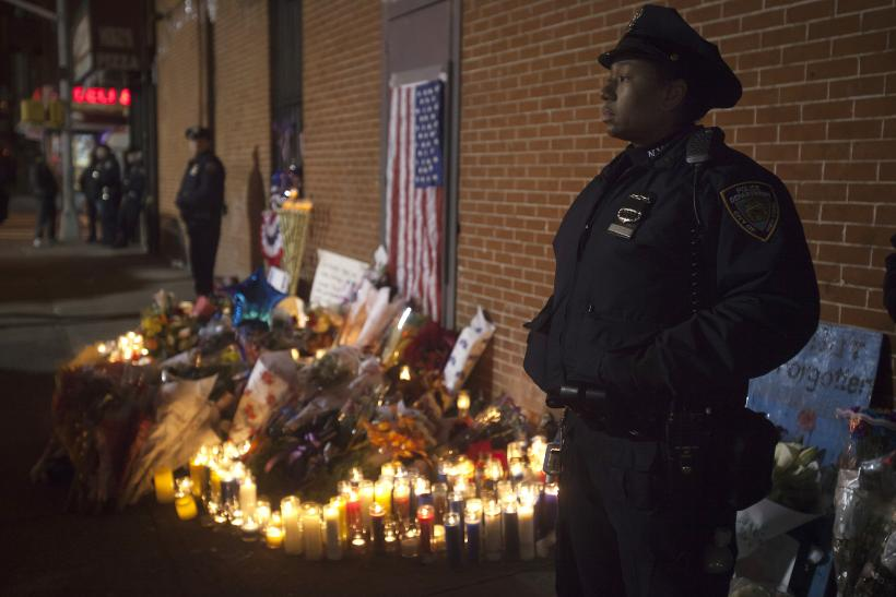 Brooklyn Mourns Slain NYPD Officers