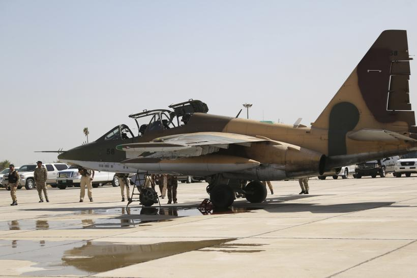 Iraqi Air Force Debuts In Fight Against ISIS