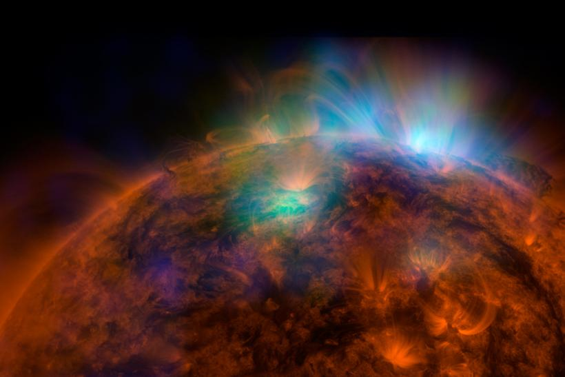 NASA's X-Ray Of The Sun Is A Stunner