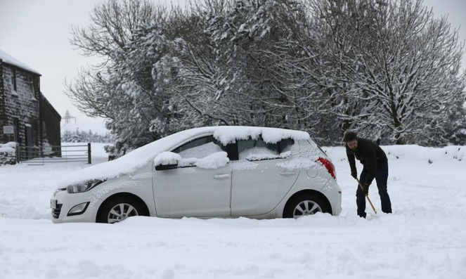 Blizzard Warnings Issued For Winter Storm Juno