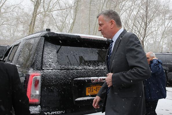 Northeast Blizzard Is A Test For De Blasio, Other Officials