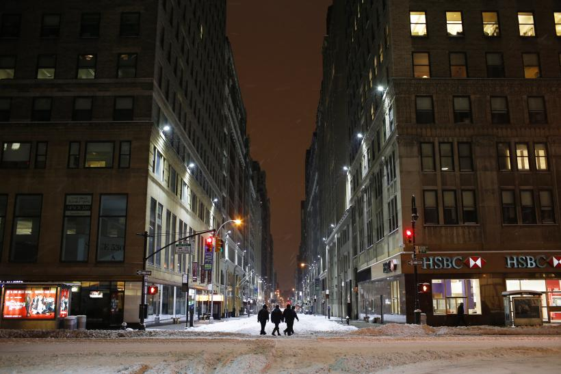 Nor'easter Disrupts Normal Life