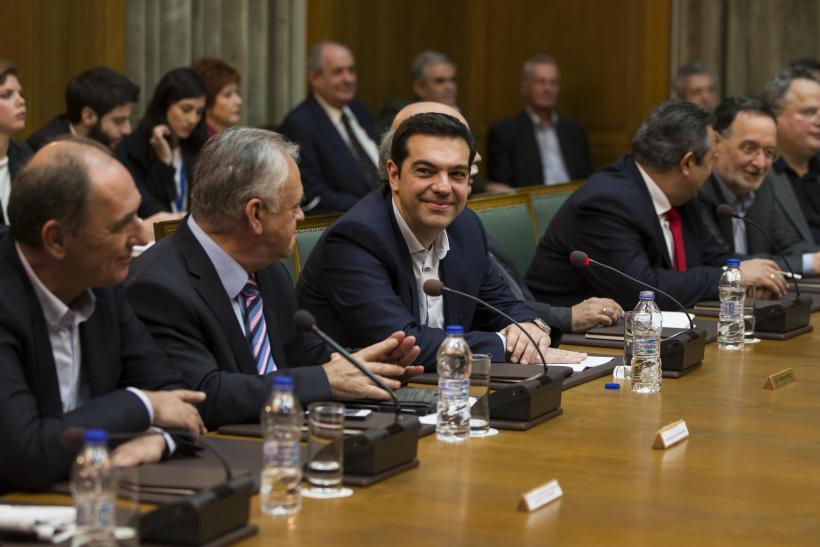 Greece's Left-Wing Prime Minister Urges Negotiation To Reduce Debt