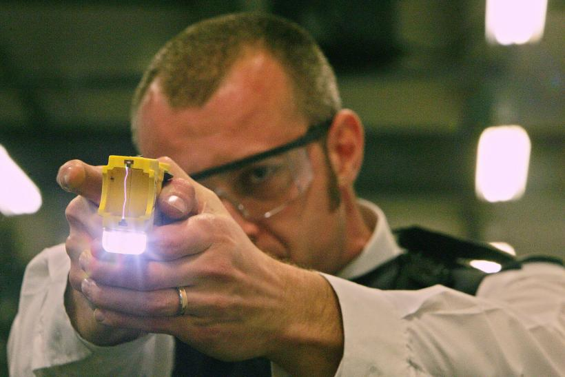 UK Police Union Calls For Officers To Be Armed With Tasers
