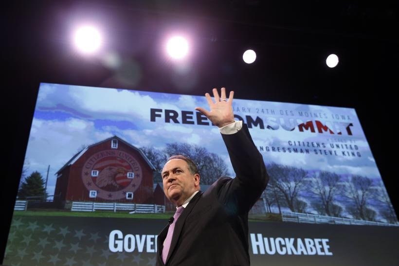 Mike Huckabee: Gay Marriage A 'Biblical Issue'