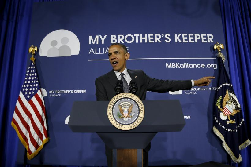 President Obama launches the My brother's Keeper Alliance initiative