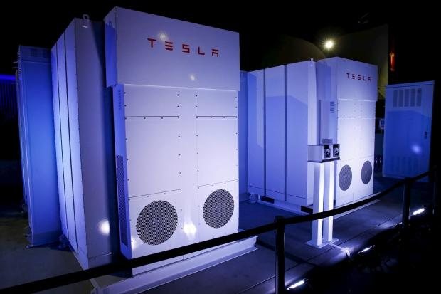 Tesla batteries