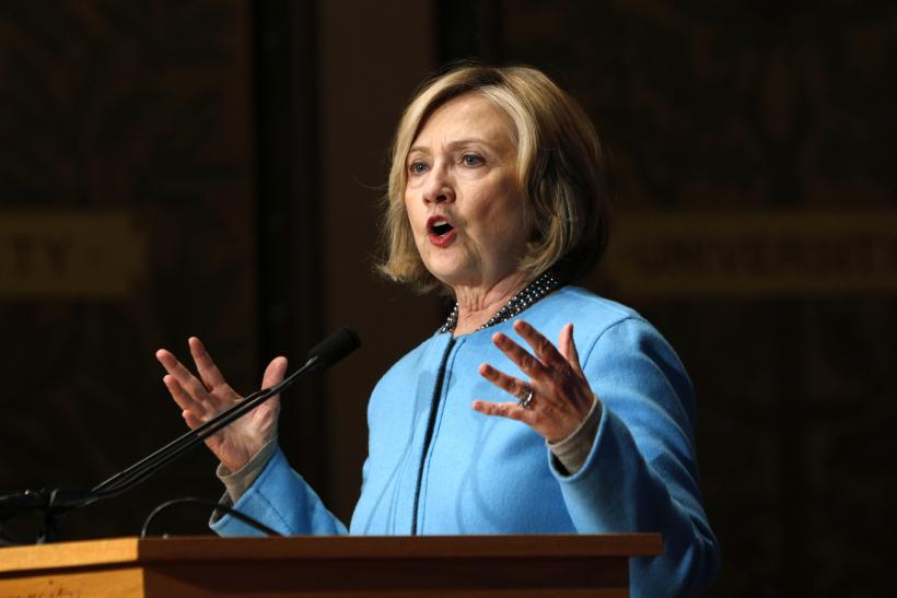 Hillary Clinton Denounces Torture: Likely 2016 Presidential Candidate Slams CIA In First Public Comments Since Senate Report