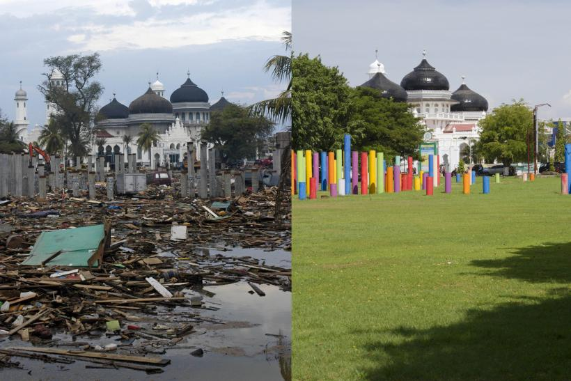 Indian Ocean Tsunami Anniversary: Banda Aceh In Photos, Then And Now, Shows A Place Destroyed And Rebuilt