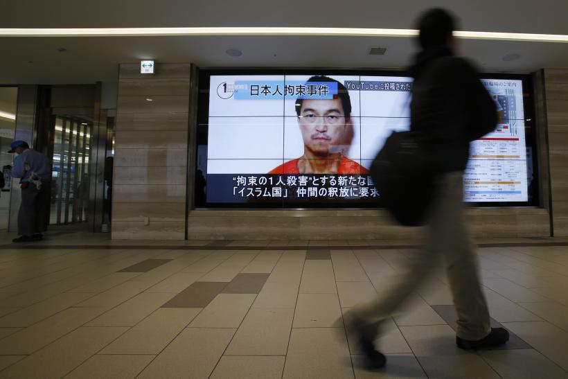 Abe Says ISIS Video Of Japanese Hostage Is Likely Authentic, Will Work To Save Goto