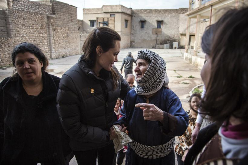 Angelina Jolie Left 'Speechless' By Refugees' Suffering In Iraq And Syria, Calls For More Funds In Op-Ed