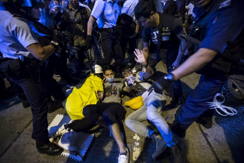 Hong Kong Protests: Student Leaders Joshua Wong, Lester Shum Arrested From Mong Kok
