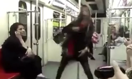 Iran Hijab Law: Iranian Woman Breaks Two Laws With Uncovered Dance On Tehran Subway