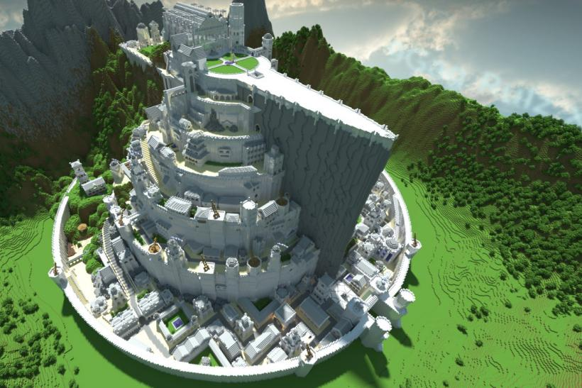 'Minecraft' Building Ideas: Word Processor, Coliseum And More Of Our Favorite Builds