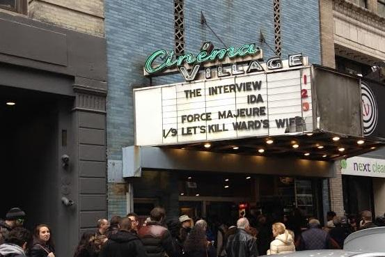 'The Interview' Christmas Screening Brings NYC Crowds In Support Of Free Speech