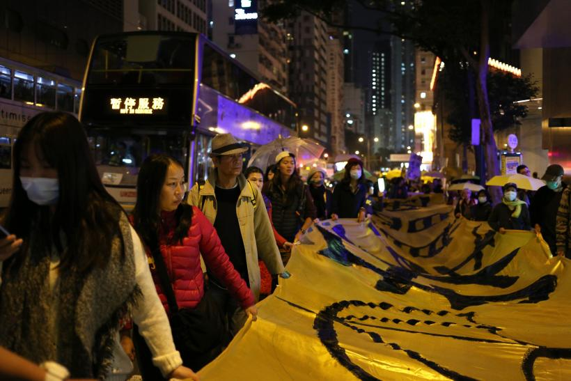 Hong Kong Police Arrest 37 Pro-Democracy Demonstrators In Second Night Of Protests