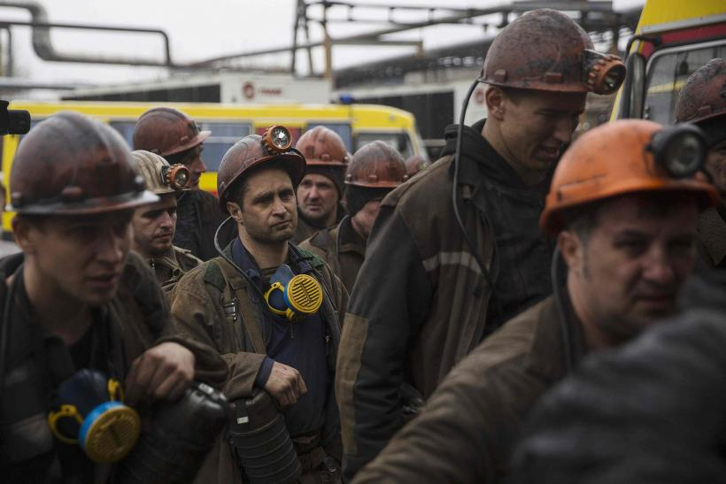 Ukraine Observes Day Of Mourning For Miners