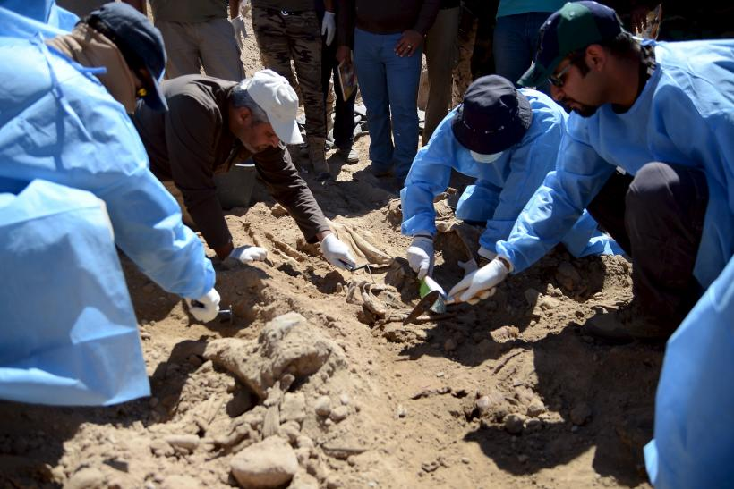 Islamic State Mass Graves