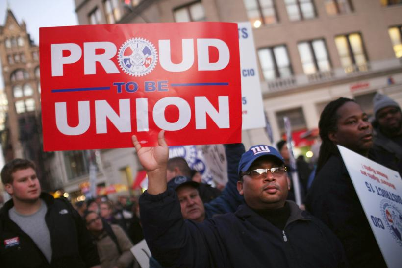Organized Labor Support Varies By Class, Race And Age